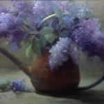 Lilacs in Copper