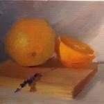 Oranges and Lavender